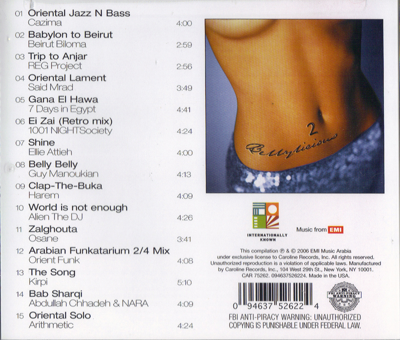 Bellylicious CD